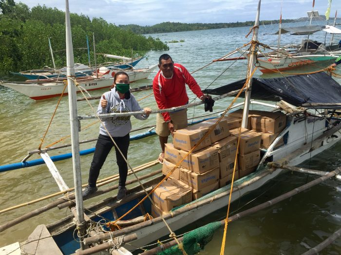 ICM's partners go the distance to deliver food to the ultra-poor communities in Visayas and Mindanao