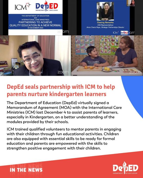 DepEd and ICM
