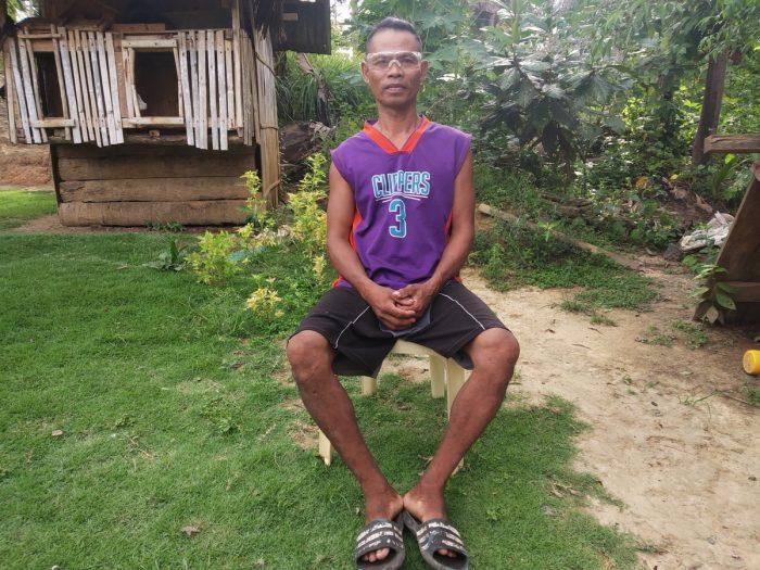 Farmer receives eye-surgery through ICM medical mercy fund